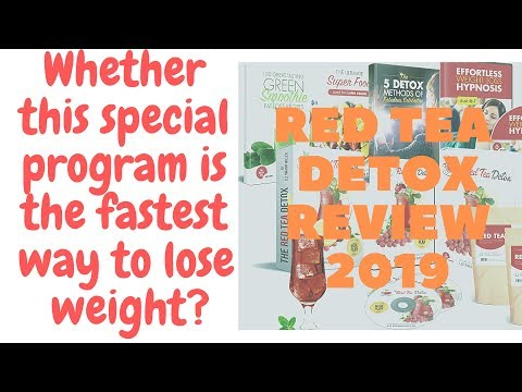 2019 Best Way To Lose Weight 14lbs Naturally At Home In 2 Weeks – Red Tea Detox Fat Loss Program