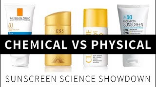Chemical vs Physical Sunscreens: The Science | Lab Muffin Beauty Science