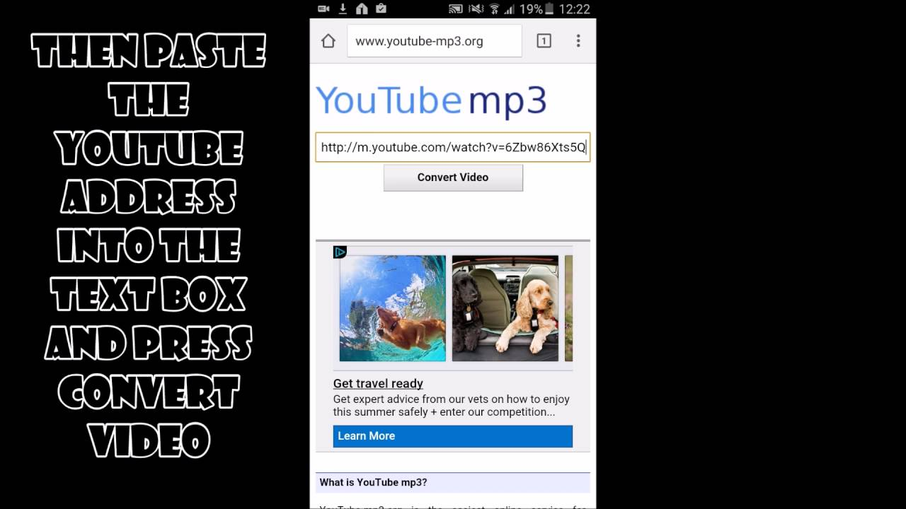 how to download free music from youtube without software