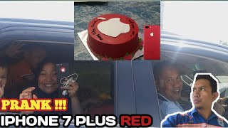 PRANK ISTRI PAKAI KUE IPHONE RED