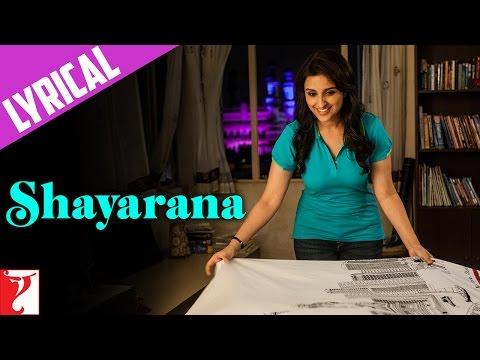 Lyrical: Shayarana Song with Lyrics  ...