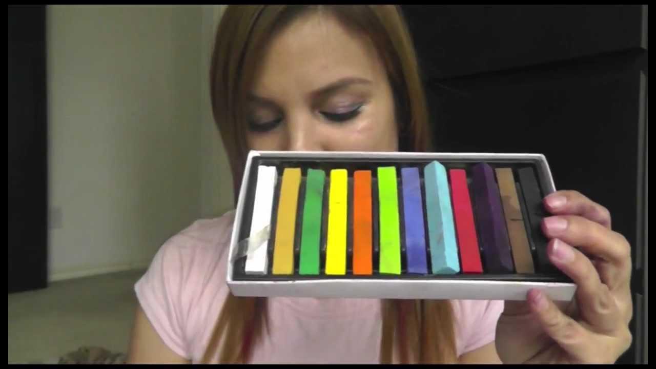 Pelo De Colores Por Un Dia (Sin Decoloracion) - Nina Tips Mty - YouTube