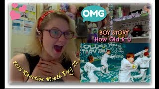 Video 2018 Reaction Month Day 22: Boy Story: How Old R U download MP3, 3GP, MP4, WEBM, AVI, FLV Mei 2018