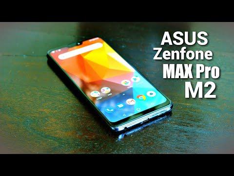 TEST Du ASUS Zenfone MAX Pro M2 - Smartphone High Tech