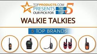 Best Walkie Talkie Reviews 2017 – How to Choose the Best Walkie Talkie