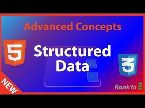 HTML5 Advanced Tutorials - HTML5 And Structured Data
