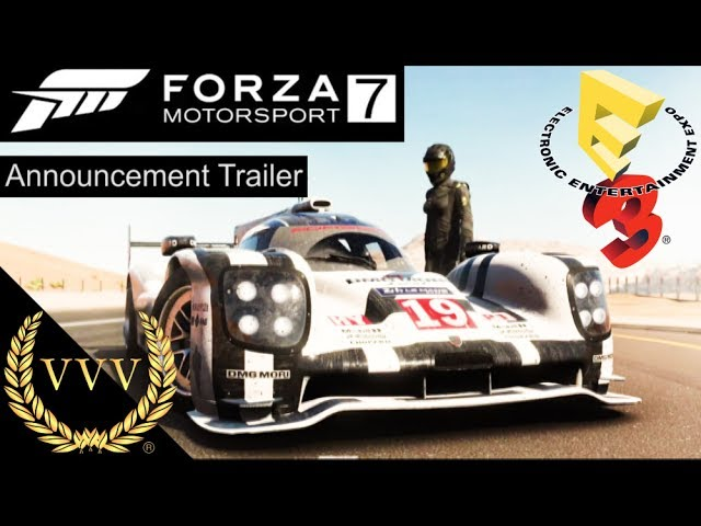 Forza Motorsport 7 Announcement Trailer