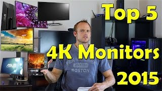 Top 5 Best 4K monitors - Monitor Buyers Guide 2015