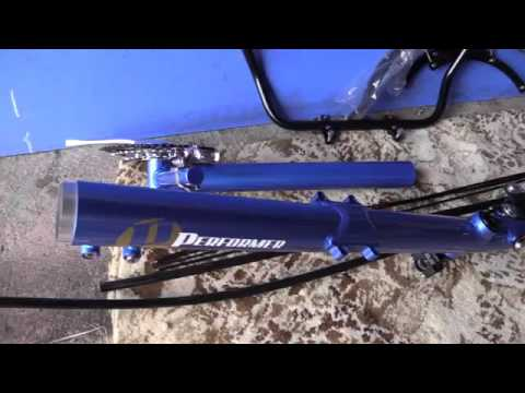 Performer Trike-X Recumbent Trike by Hellbent332