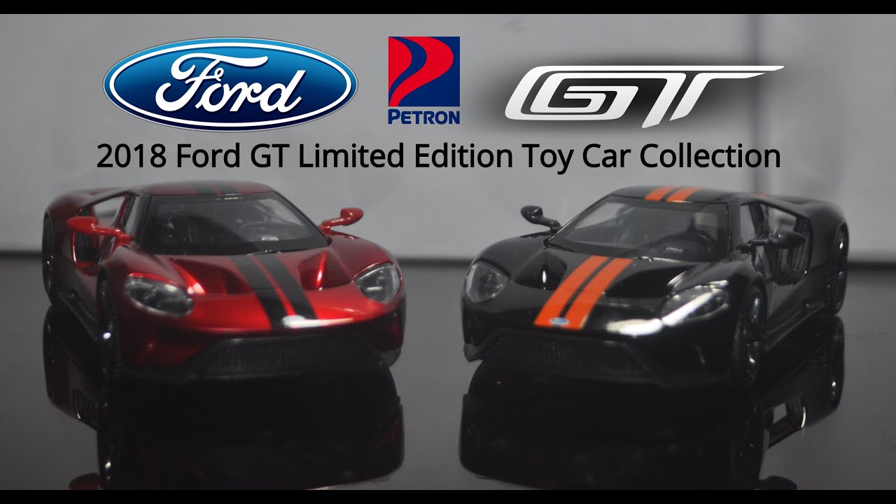 Petron Ford Gt Limited Edition Toy Car Collection Review Youtube