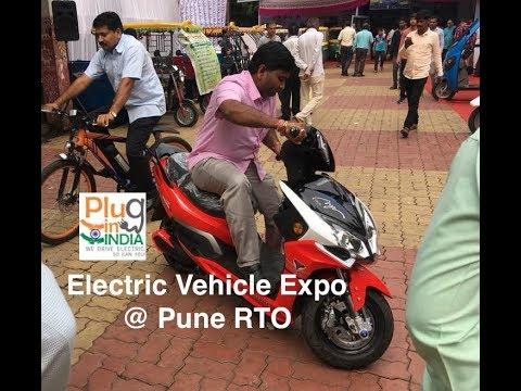 PlugInIndia VLOG #3  - RTO Pune EV Expo