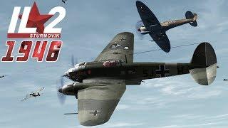 Full IL-2 1946 mission: Spitfire Malta Defense (Multiplayer Mission)