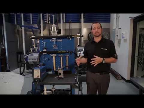 Car-O-Liner Repair Station for Aluminum Vehicle Collision Repair