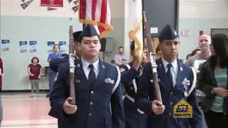 Sullivan Middle School - Veterans  Day 2017