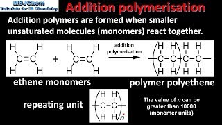 10.2 Addition polymerisation (SL)