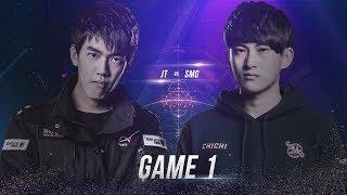 JTeam vs SMG [Chung Kết][Ván 1] - Garena Liên Quân Mobile