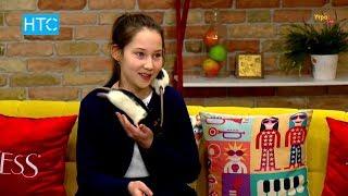 Ясмин Ермакова и её декоративные крысы / «Сыром крыс кормить нельзя» / УтроLive / НТС