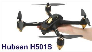 Hubsan H501S X4 - Квадрокоптер с GPS!