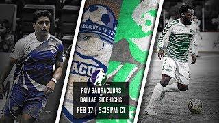 RGV Barracudas vs Dallas Sidekicks