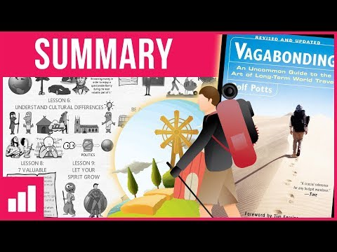 Vagabonding by Rolf Potts - Educational Travel Around The World ► Animated Book Summary