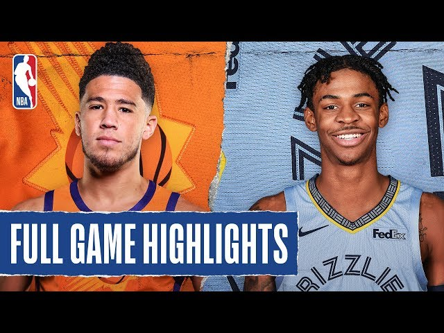 SUNS at GRIZZLIES | FULL GAME HIGHLIGHTS | January 26, 2020