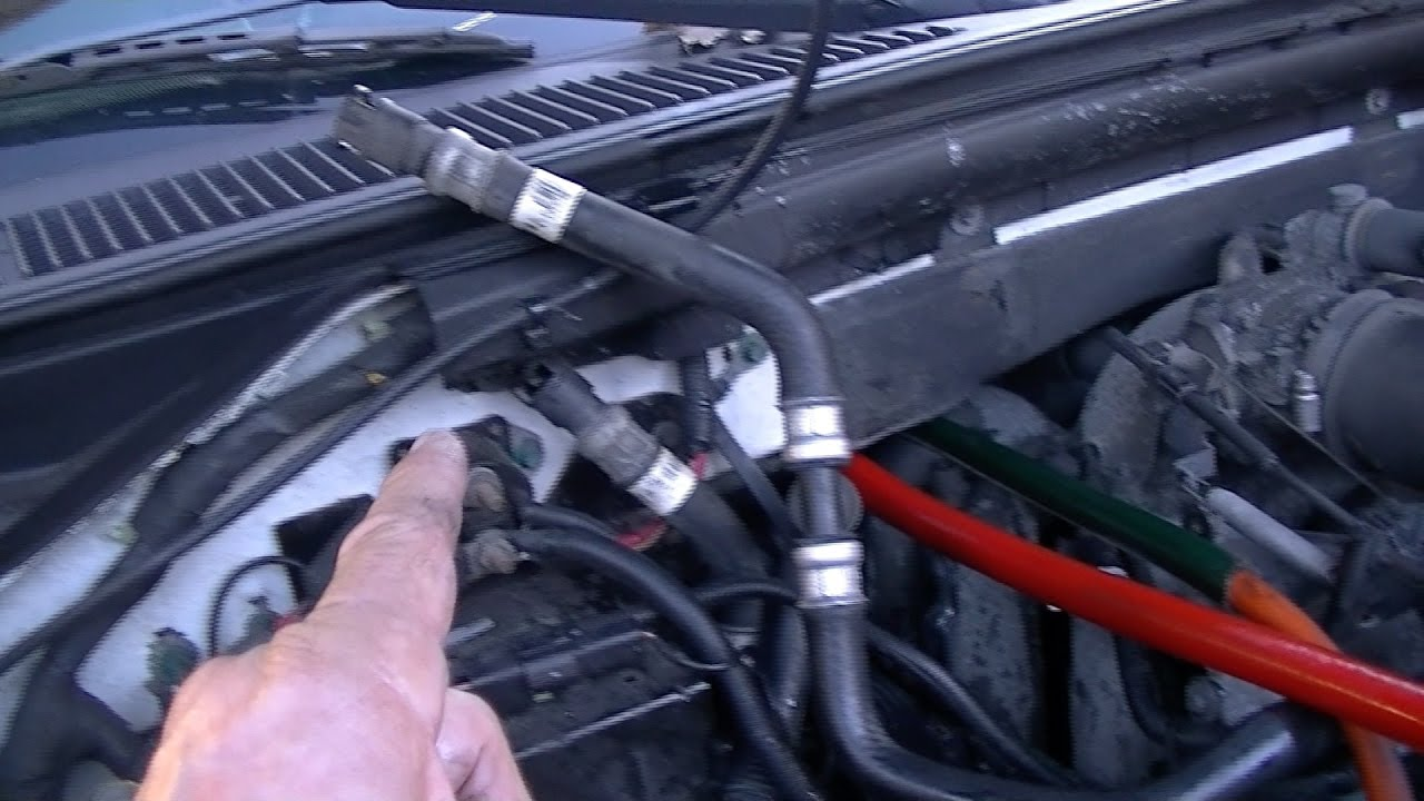 small resolution of no hot heat you must know this heater core flush with seals ford expedition youtube