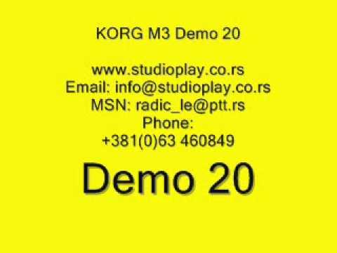 Setovi za klavijature Korg M3