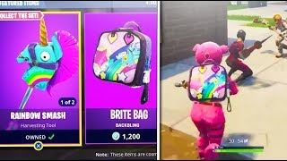 "How To UNLOCK NEW ""Bright Bag"" *SECRET FOUND!* LEGENDARY LLAMA'S FOUND? (Fortnite Battle Royale)"