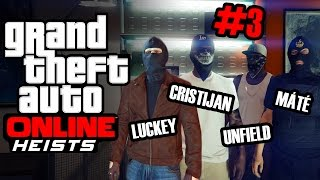 GTA Online Heist #3 - Prison Break (1/4)