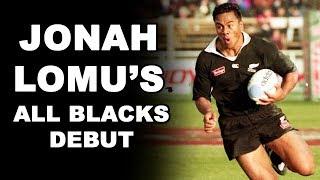 Jonah Lomu's All Blacks Debut