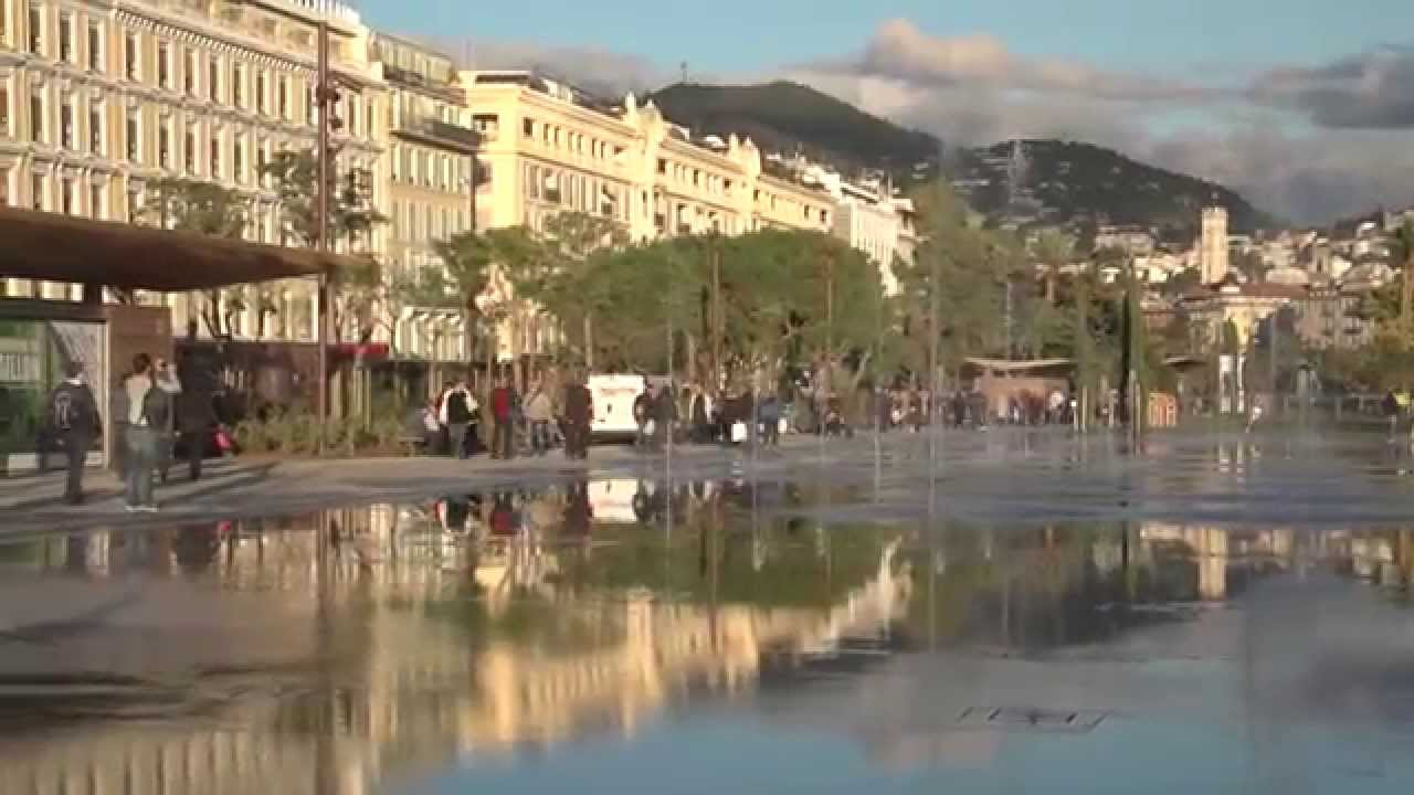 nice france downtown youtube