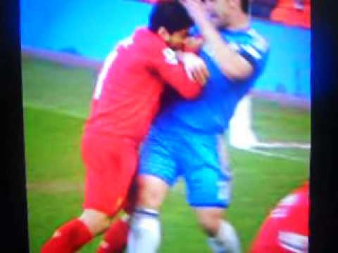 Liverpool luis suarez gets 10 match ban for biting 4/24/2013