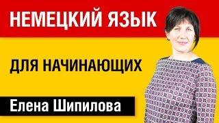 Немецкий язык для начинающих - Елена Шипилова и speakasap.com