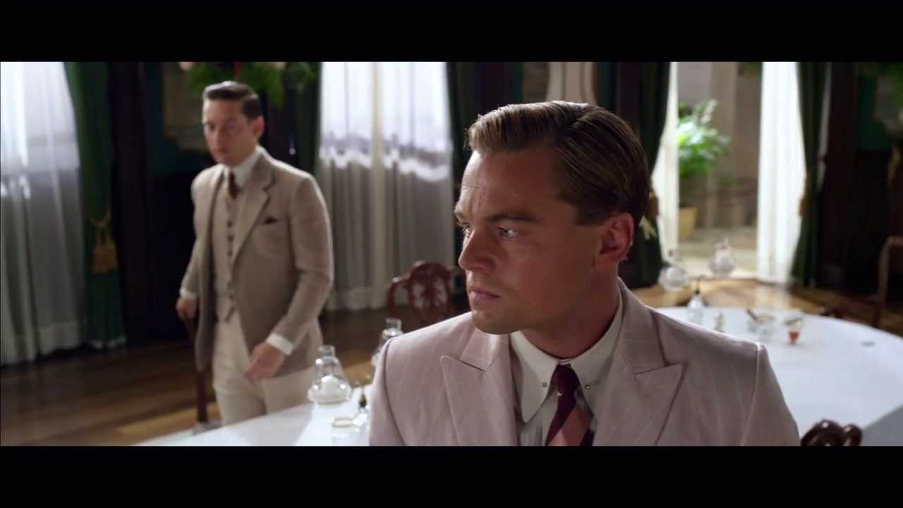 6a998f632c18 Leonardo DiCaprio to Tobey Maguire in 'Gatsby' Deleted Scene: Daisy  Buchanan's a Gold Digger (Video)
