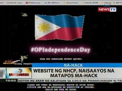 BT: Website ng NHCP, naisaayos na matapos ma-hack