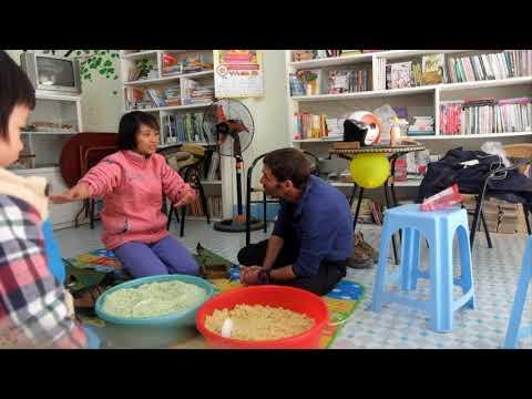 How to make Banh Chung for Tet | Yen Ninh Vegetarian Restaurant