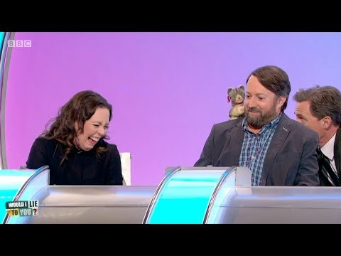 Olivia Colman's peep show on Would I Lie to You?