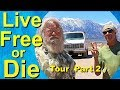 Live Free or Die: Tour of a No-Compromise Adventure Van with a Woodstove Part 2