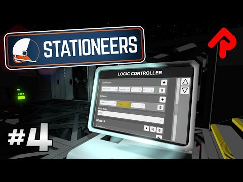 Using Computer Logic to Automate Solar Panels | Let's play Stationeers gameplay ep 4 (PC alpha)