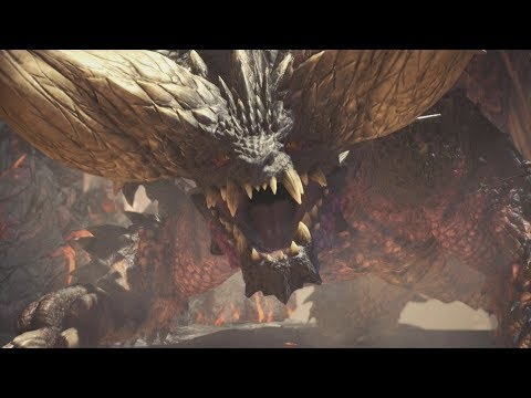 Monster Hunter World: All Monster Intros / Cutscenes