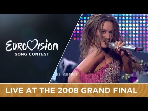 Kalomira - My Secret Combination (Greece) Live 2008 Eurovision Song Contest