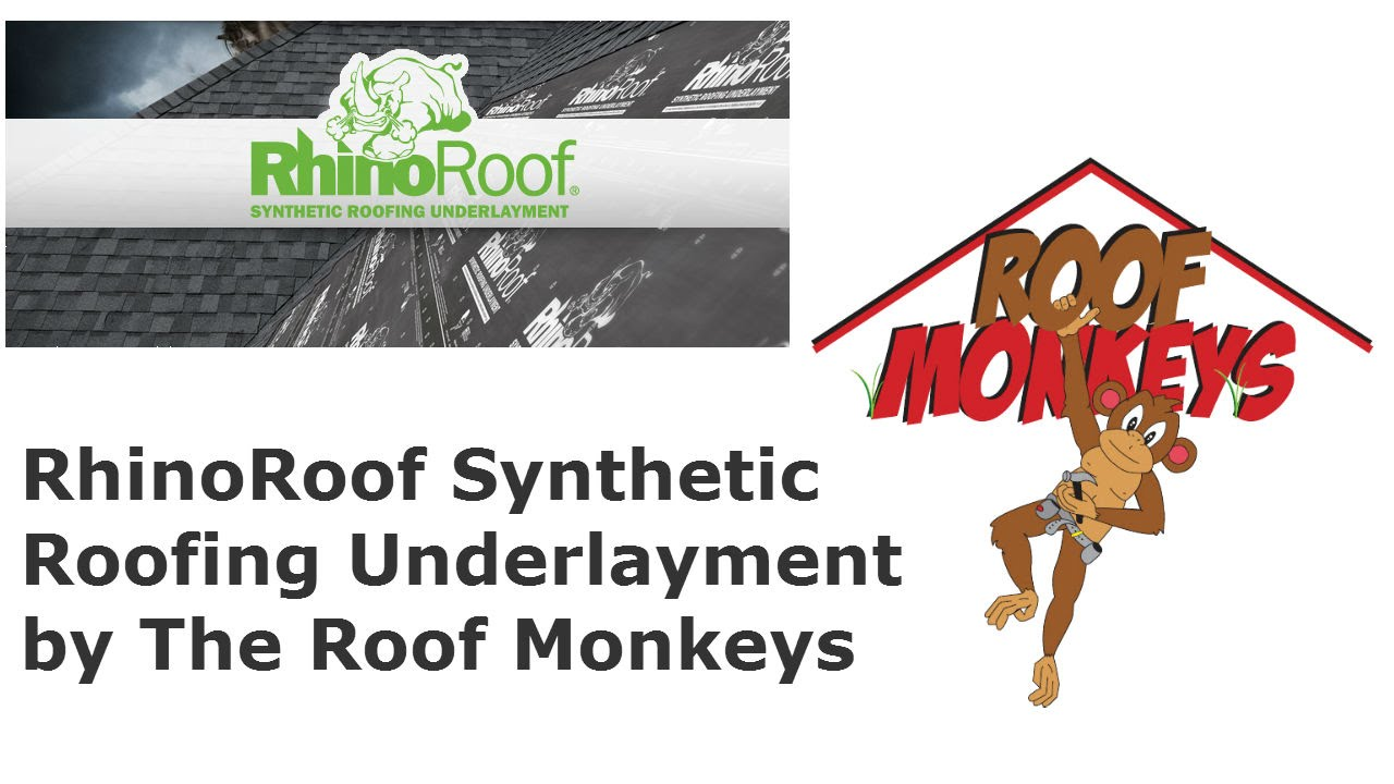 Rhinoroof Synthetic Roofing Underlayment Used By Roof