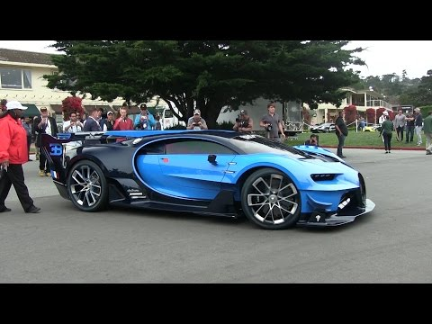 The Best Hypercars of Monterey Car Week!Vision GT, Agera XS, Regera, Centenario, LaFerrari