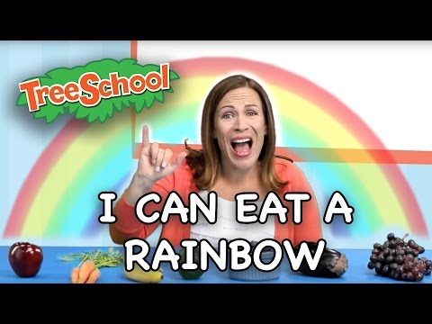 I Can Eat A Rainbow - Two Little Hands TV