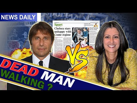 CONTE vs MARINA? || IS CONTE CLOSE TO LEAVING? || Chelsea News Daily