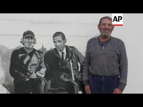 Murals bring sleepy Bulgarian village to life