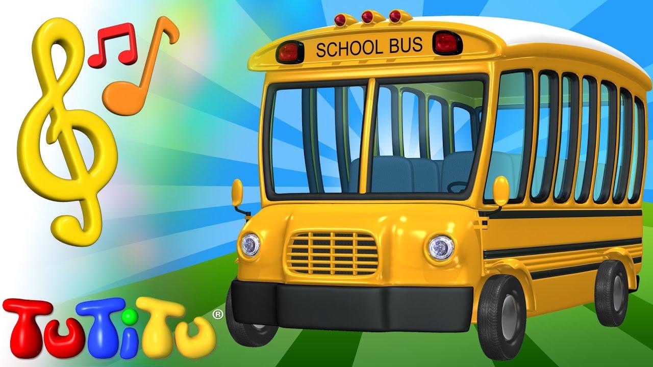 Tutitu Chansons En Anglais Et Jouets Autobus Apprendre Langlais Pour Enfants
