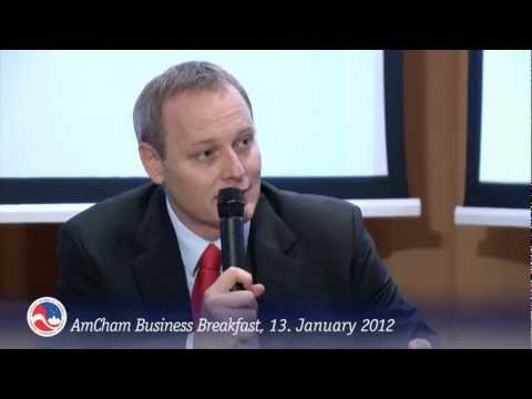 AmCham Slovenia Business Breakfast January 13, 2012