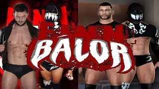 How to create Finn Balor in SvR 2011 PS2 (2 attires)