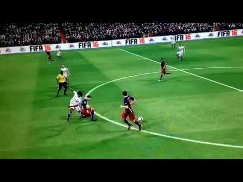 Gerard Pique Fifa 16 |Skills,Tackles,headers|
